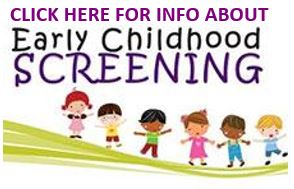 Early Childhood Screening Information