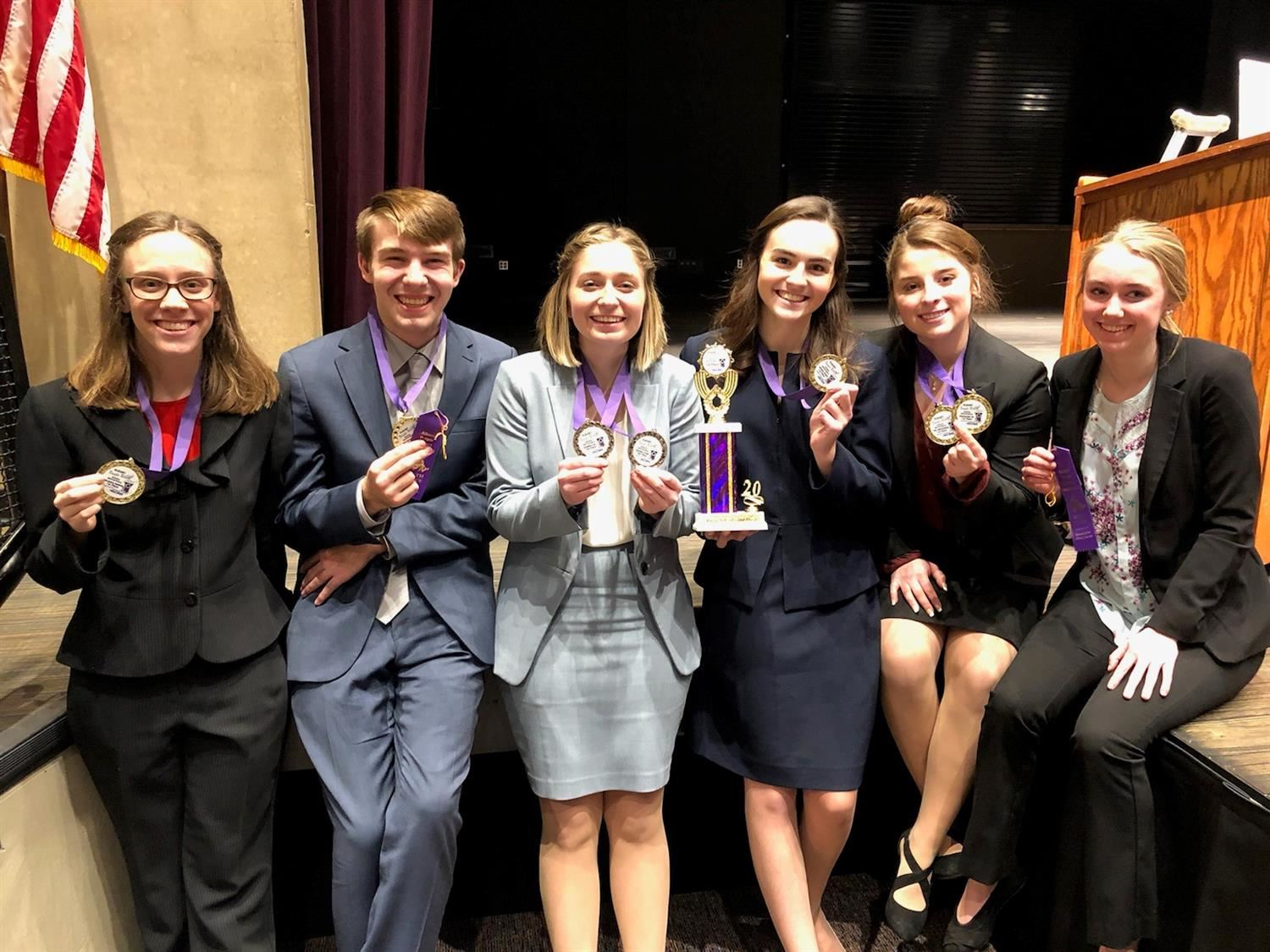 Speech Team takes 2nd at Albany Invitational